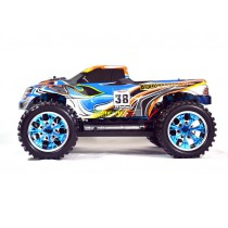 Monstertruck HSP Brontosaurus Pro - 1:10 - 4x4 (Bleu)