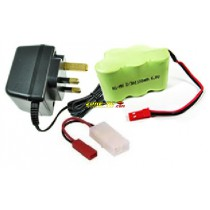 Ni-MH Battery - 6V 1100mAh Battery Pack