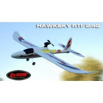 Hawksky 4 Voies Brushless Avion Sportif d'Entraînement RC 2.4G