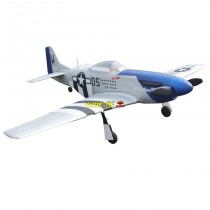 Mini P-51D Mustang Avion RC RTF (Prêt à voler) 2.4Ghz