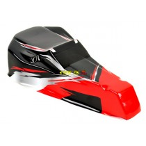 Carrosserie rouge pour Dune Buggy